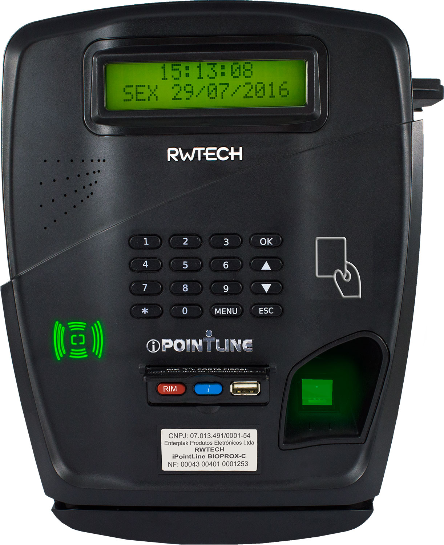 4662023025b Empresa Especializada em Relógio de Ponto - RW Tech