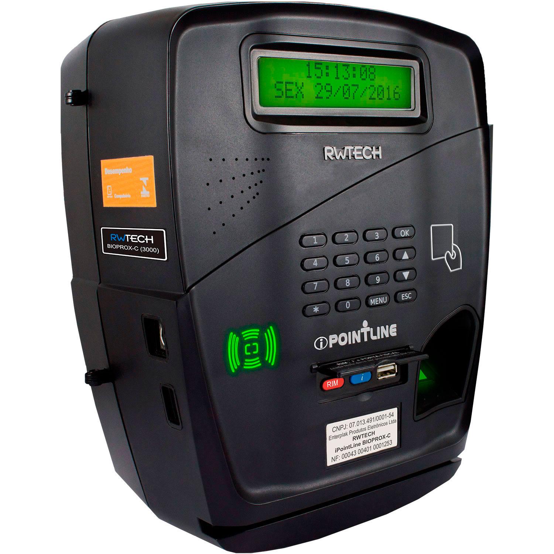 902b4049149 Relógios de Ponto Biométrico Rep - RW Tech