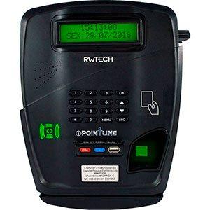 Relógio Biométrico com Guilhotina